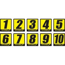 Numéros FFVRC 1/5 à l'unité