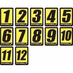 Numéros FFVRC 1/10 à l'unité